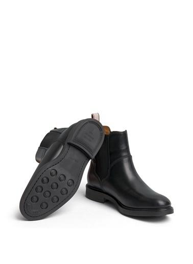Gant Deri Bot Siyah